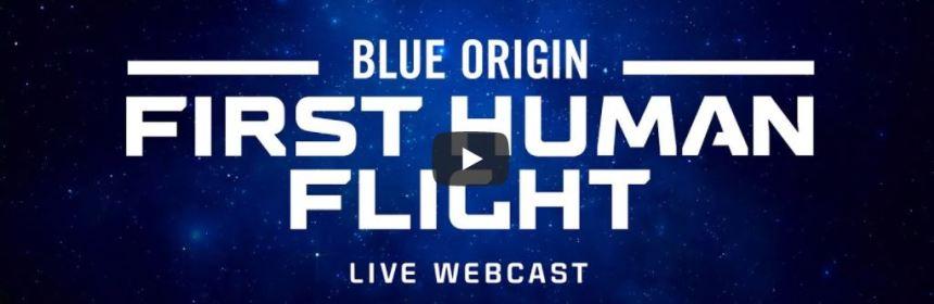 Watch Live Stream of Blue Origin's First Human Flight Into Soace