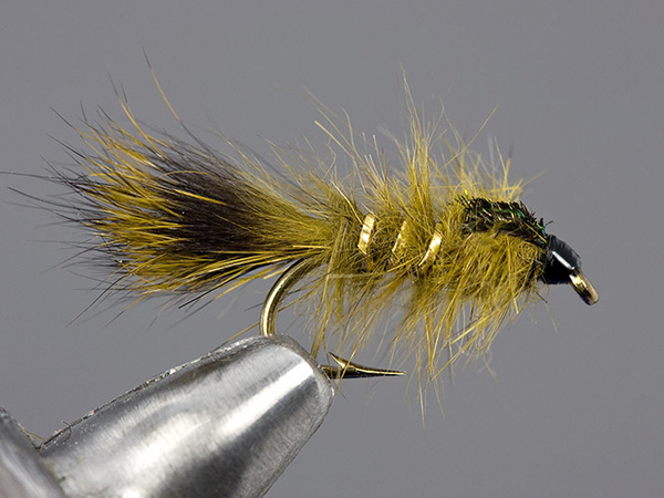 Olive Gold Ribbed Hare's Ear Nymph