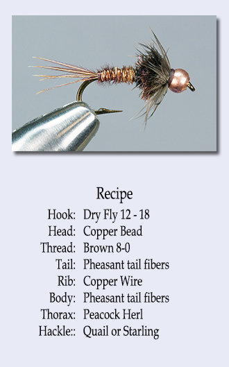 recipe for bead head soft hackle pheasant tail nymph