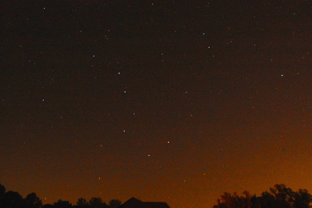 Big Dipper and the North Star