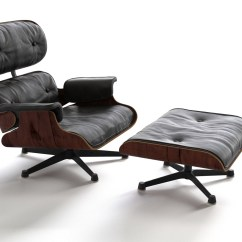 Office Chair Comfortable Folding Beach Chairs Eames Lounge With Ottoman | Flyingarchitecture