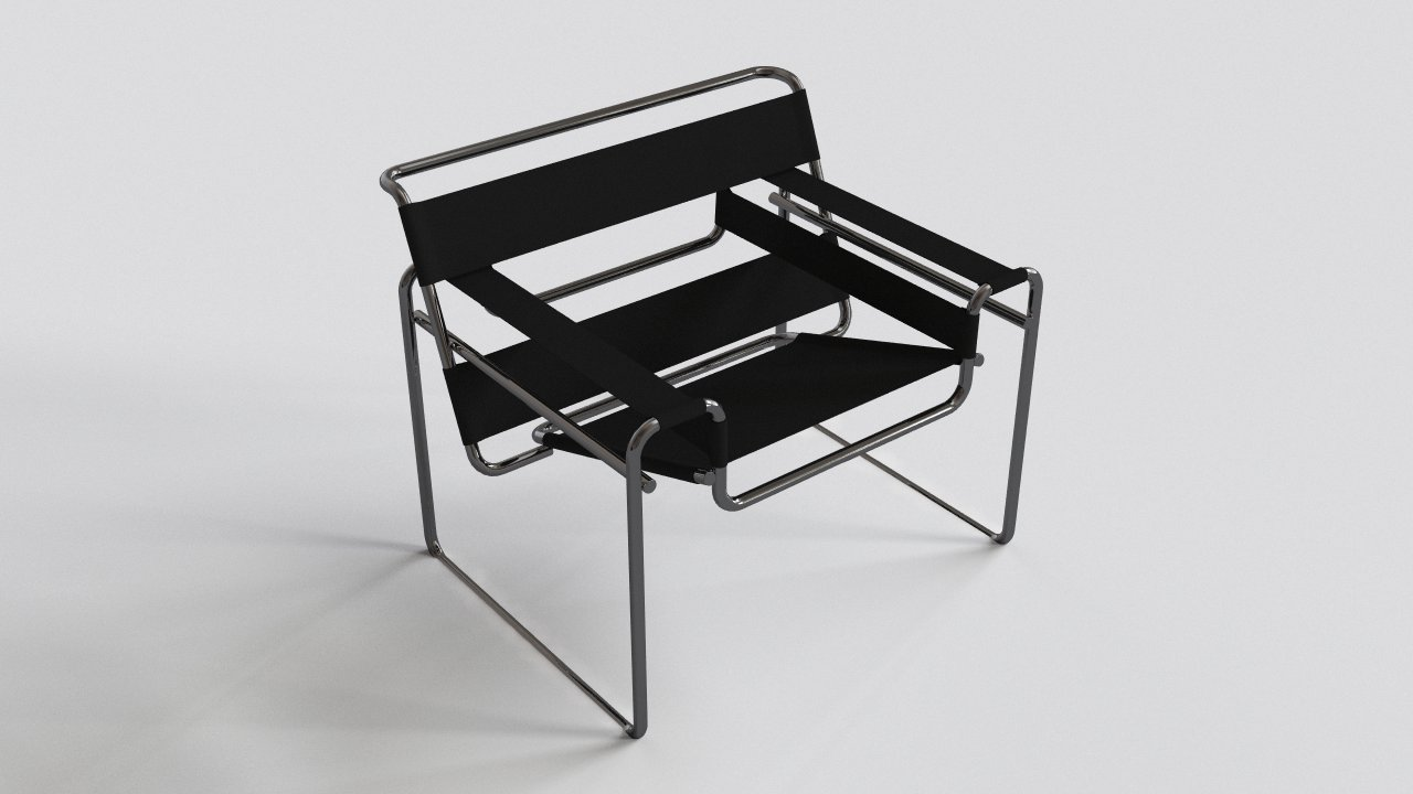 Bruer Wassily Chair  FlyingArchitecture