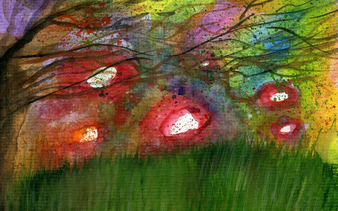 Abstract landscape (SOLD)