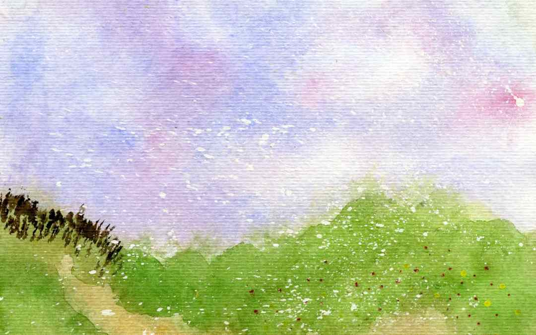 Grass landscape – Daily Painting #551