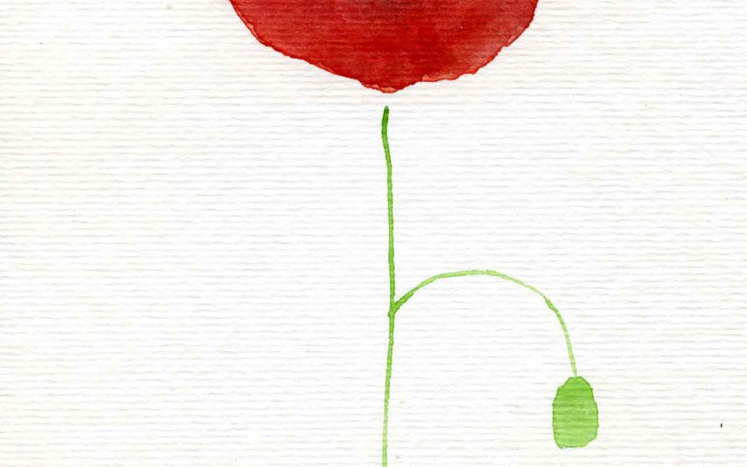 Poppy – Daily painting #641 (SOLD)