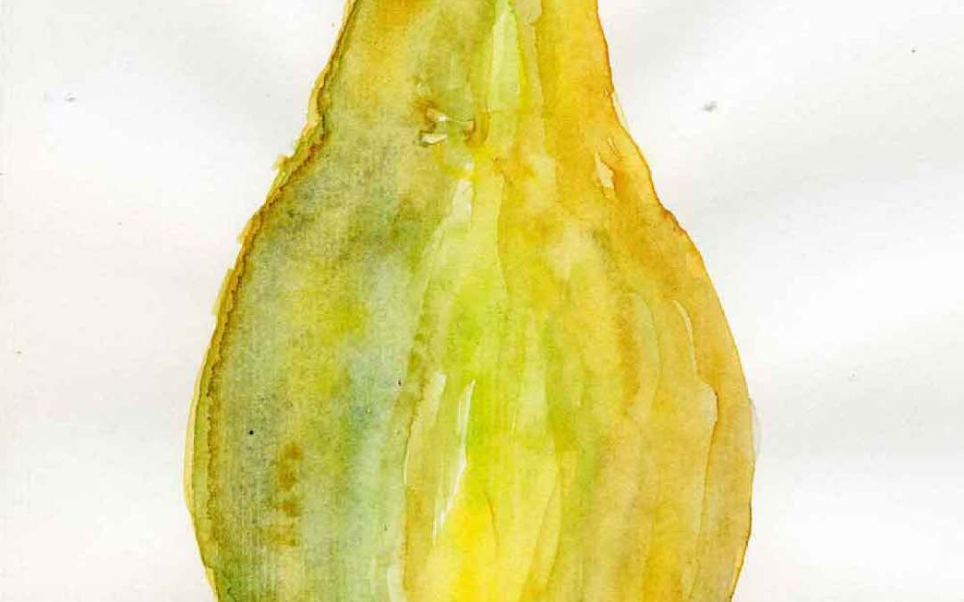 Pear #9 – Daily Painting 732