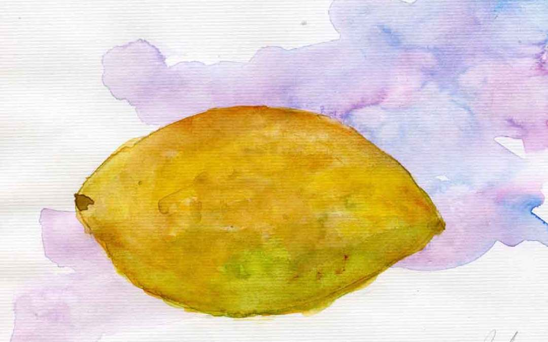 Lemon #4 – Daily painting #737 (SOLD)
