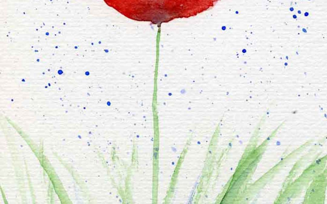 Poppies #15 – Daily painting #782