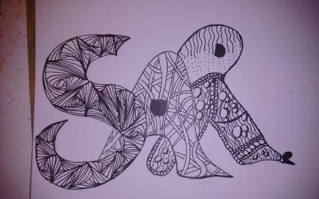 Sketchbook #26 Zentangle