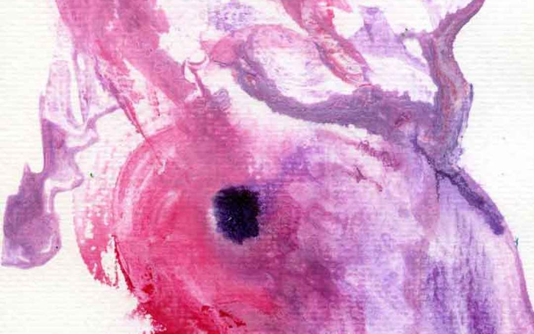 Pink and purple abstract – Daikly painting #988