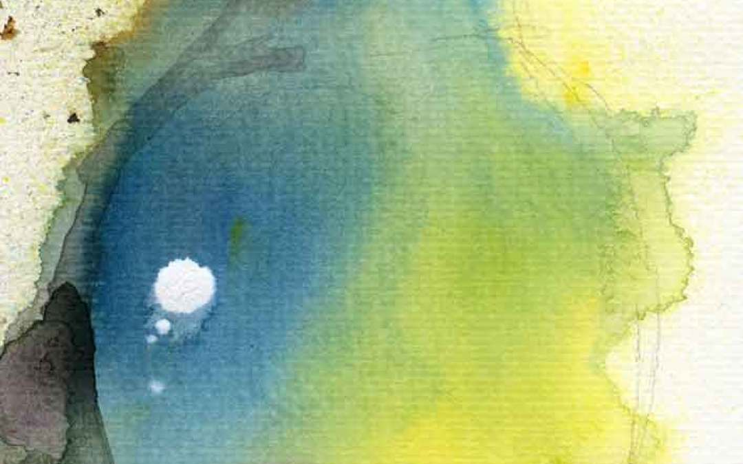 Pear abstract – Daily painting #1058 (SOLD)