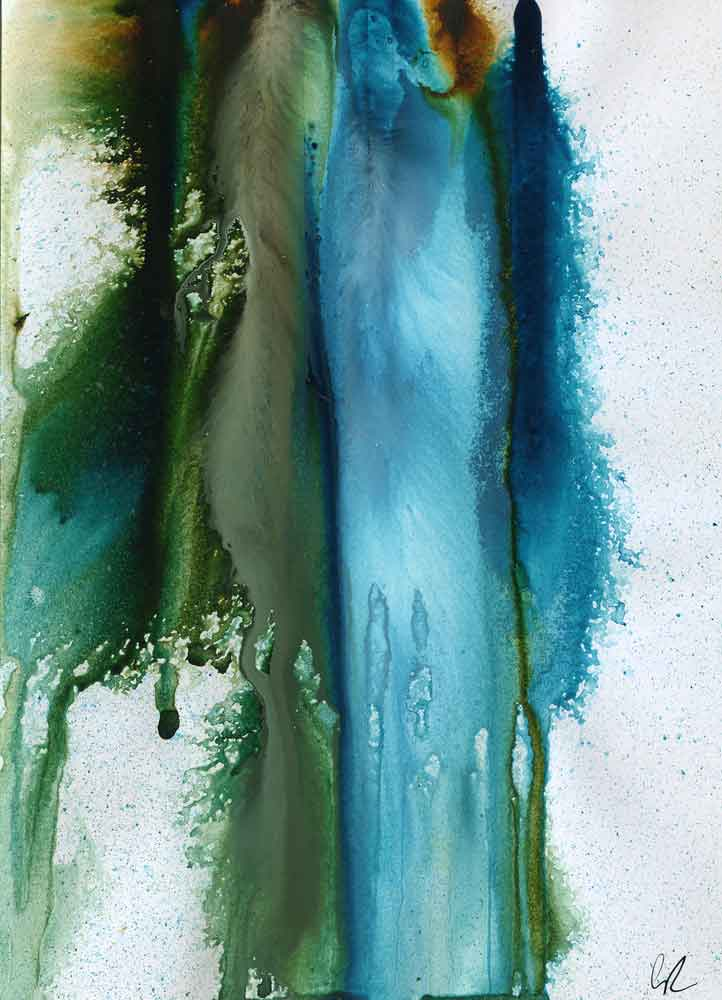 Blue and green abstract (#1311)