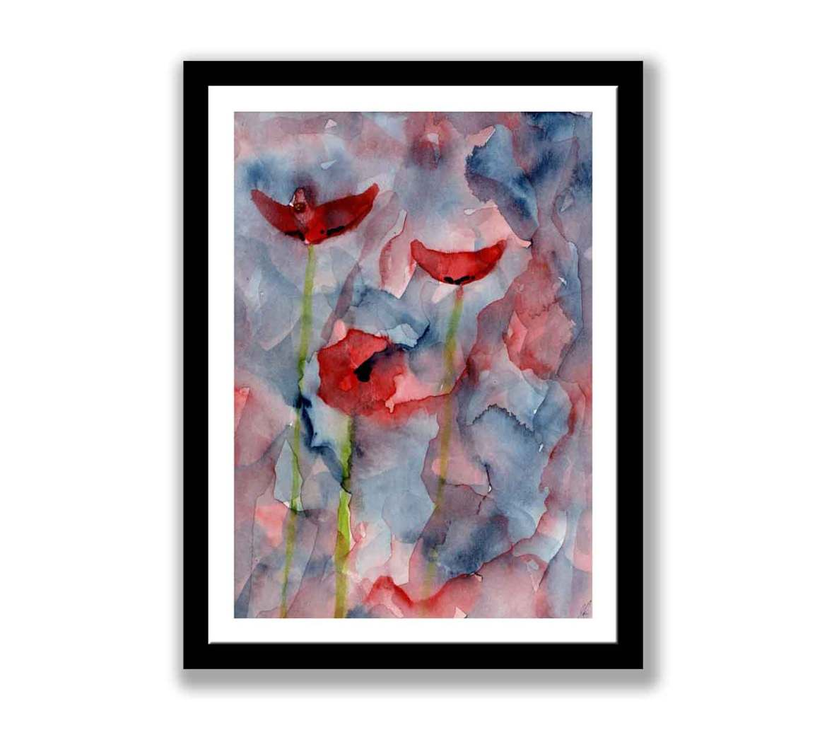 Poppies abstract (#018)