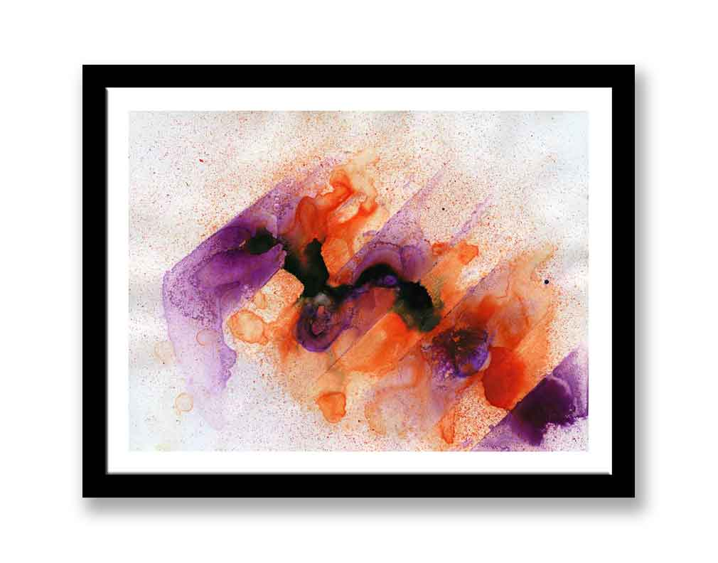 Orange and purple abstract (#1369)