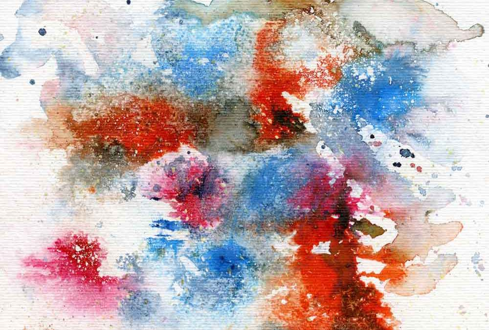 Watercolour abstract (#218)