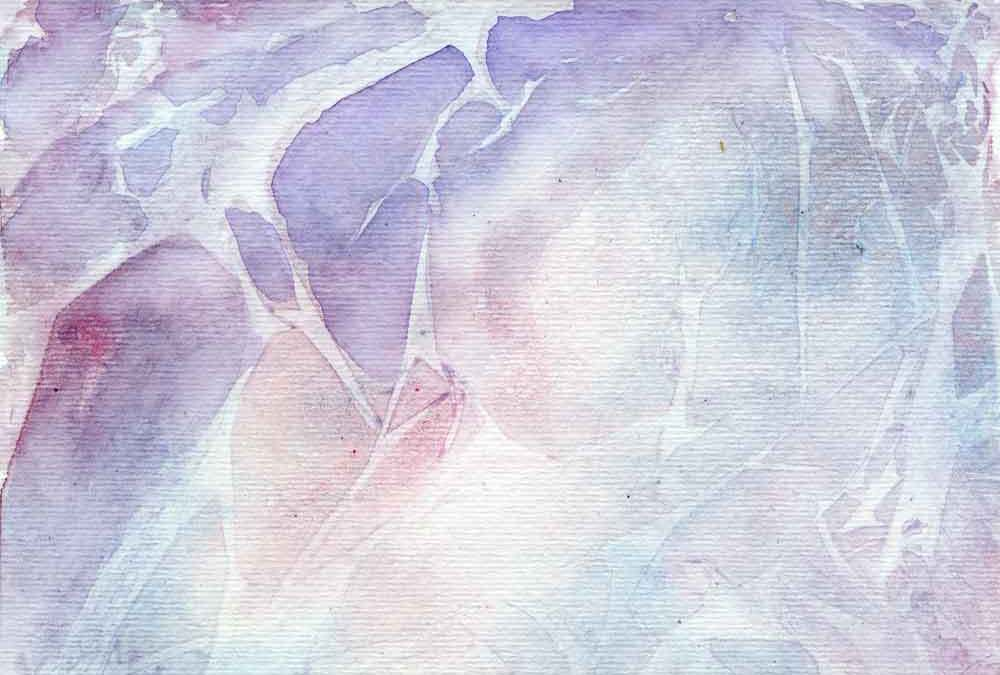 Watercolour twigs abstract (#236)