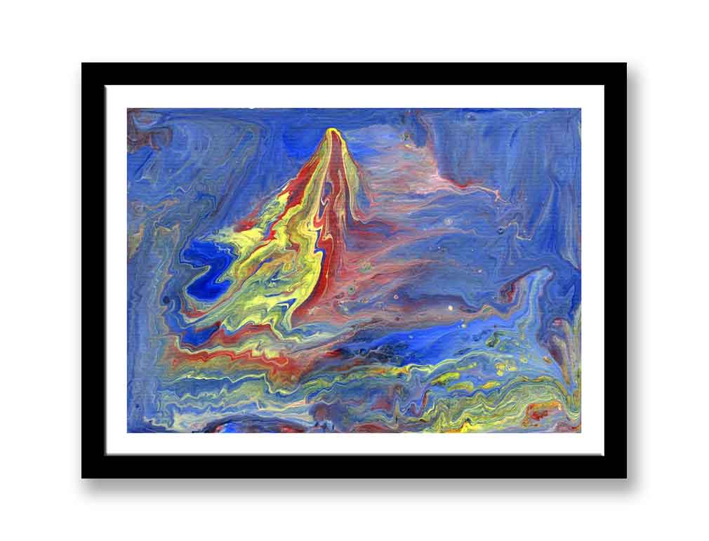 The Boat - Abstract (#1404)
