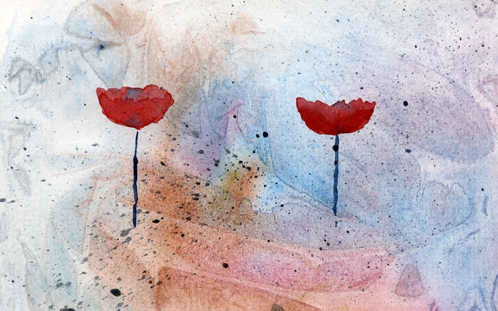 Two poppies (#264)
