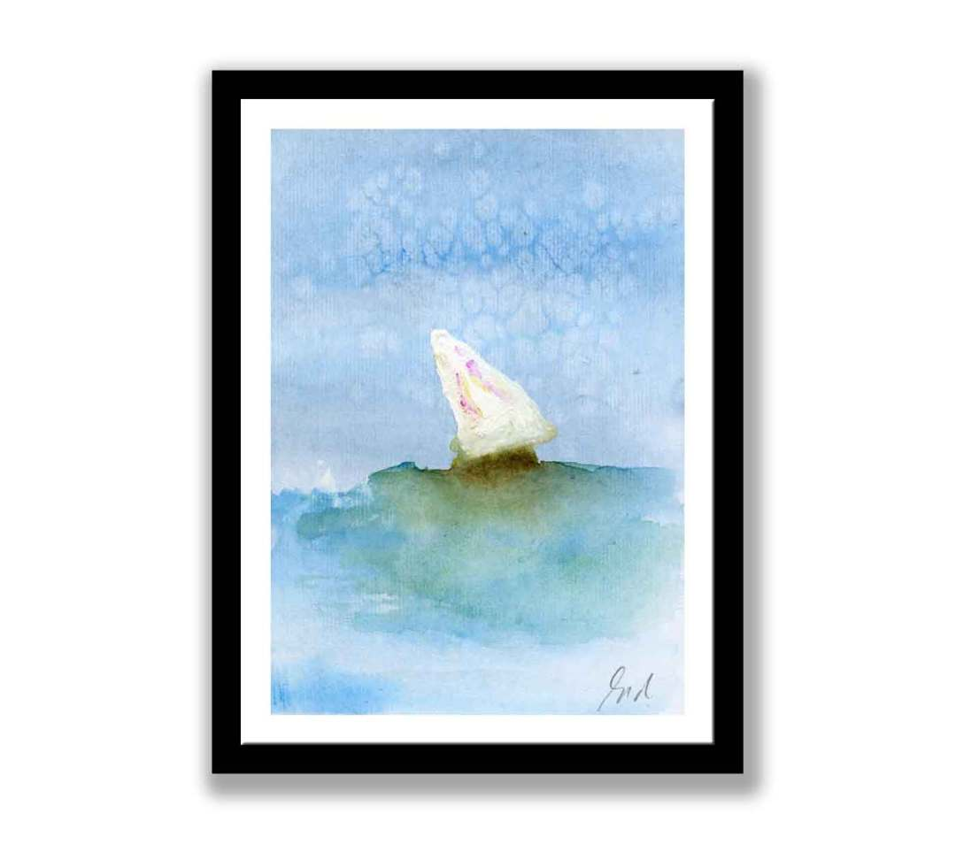 Boat on the sea (#466)