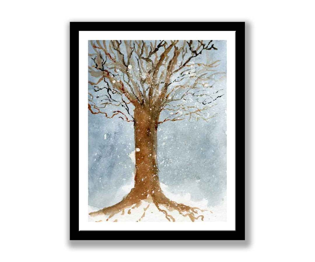 Tree in the snow (#213)