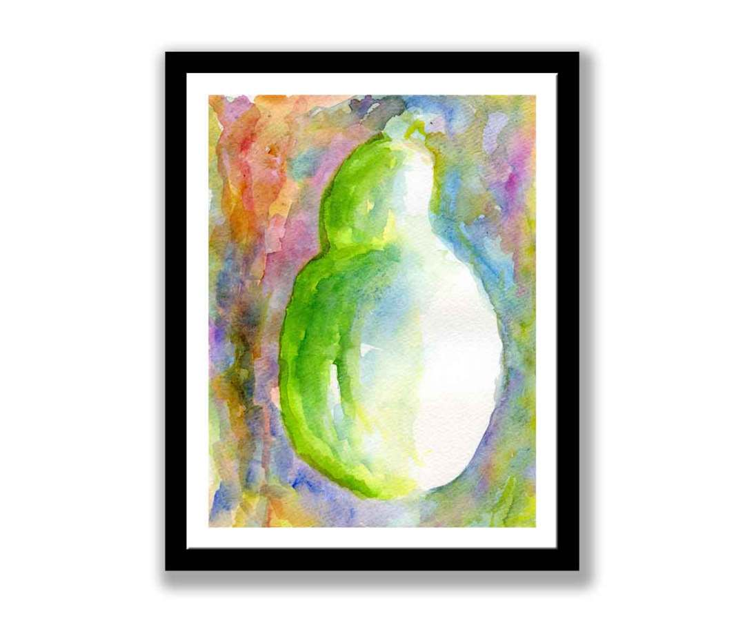 Abstract pear (#357)