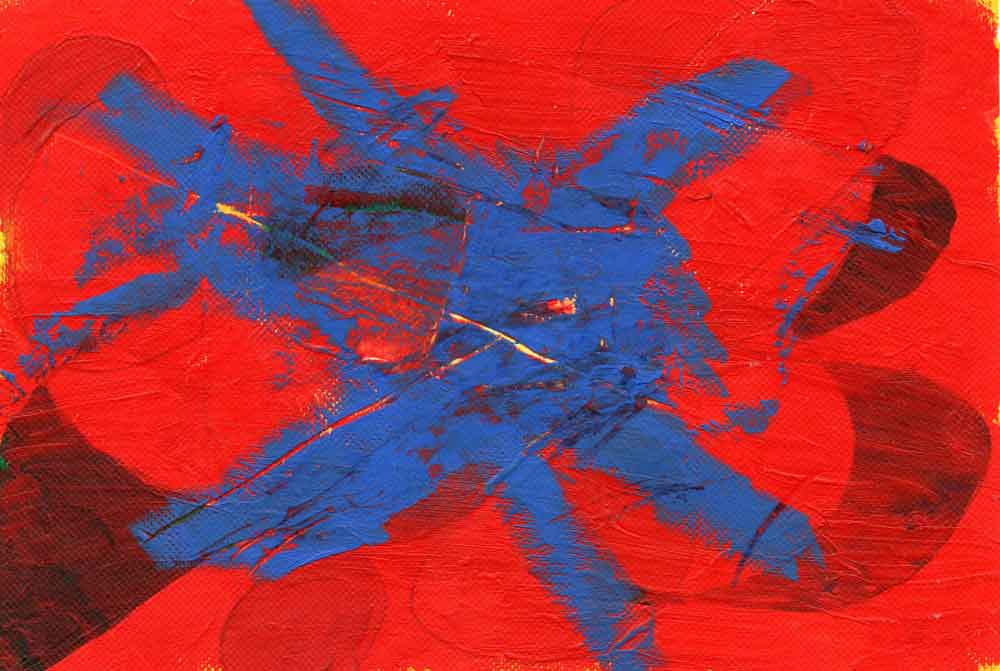 Red and blue abstract (#1513)