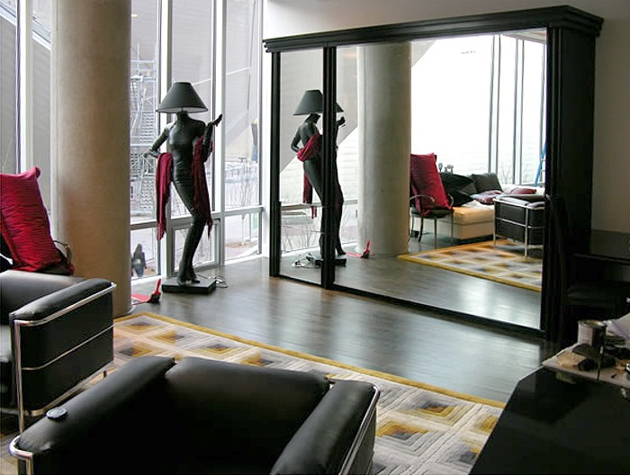 Mirrored Murphy Beds by FlyingBeds  Custom Murphy Beds
