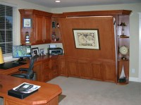 Home Office Murphy Bed by FlyingBeds: Wrap Wall