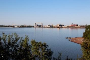 Duluth Shoreline with Aerial Lift Bridge 02