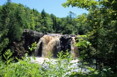 Little Manitou Falls at Pattison State Park