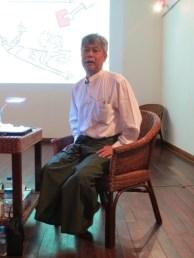 6 Jan - Aw Pi Kyeh Keynote Address, French Institute, Yangon, Myanmar