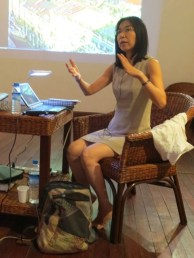6 Jan - Keiko Sei's Keynote, French Institute, Yangon, Myanmar