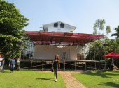4 Jan - Outdoor Stage at French Institute, Yangon, Myanmar
