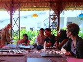 4 Jan - Meeting with Artists, French Institute, Yangon, Myanmar