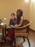 10 Jan - Anomaa Rajakaruna speaks, French Institute, Yangon, Myanmar