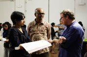 16 Jan - Visual Artist Sanathanan shares about his work, FCP 2013 Opening Night, 72-13, Singapore