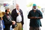 18 Jan - Meeting our guide Subaraj, FCP 2013 Day 3, Marina South Pier, Singapore