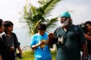 18 Jan - Explaining the history of the island(s), FCP 2013 Day 3, Pulau Semakau Landfill, Singapore