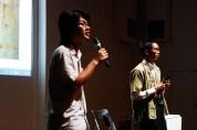 19 Jan, From left: Translator Thet Zaw Win & Burma VJ Sithu Zeya, FCP SUPERINTENSE Day 4, 72-13, Singapore