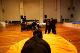 19 Jan, Our Technical Team preparing for Sound Artist Kaffe Matthews Sound Art Installation Performance , FCP SUPERINTENSE Day 4, 72-13, Singapore