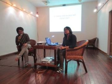 9 Jan - Nge Lay speaks, French Institute, Yangon, Myanmar