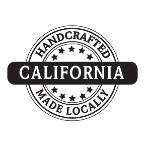 Made in California logo. Vector stamp-style. Royalty-free art.