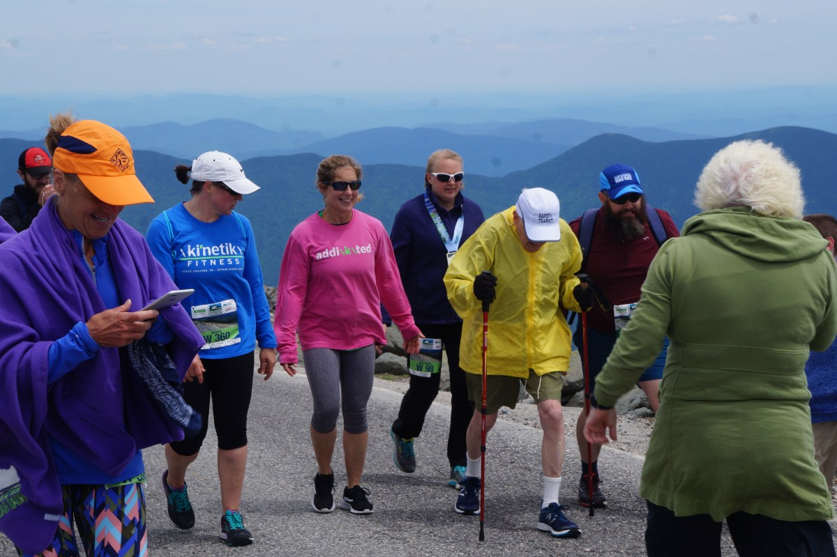 No mountain too high for this 98-year-old runner and age-graded champion