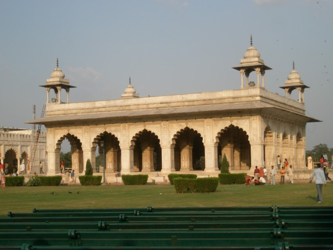 Emperor's residence, Red Fort, Delhi