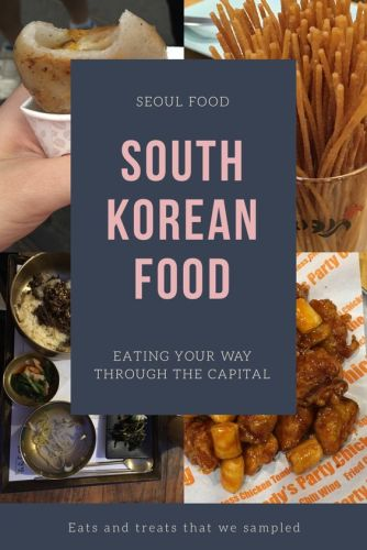 Are you going to South Korea? The best thing to do in Seoul? Eat! For four days we ate our way as much Seoul food as we could, and Korean food, especially Korean street food is delicious! Read all about our favourite street food in Korea. Twiggim, BiBimBap, Bulgogi, Korean Fried Chicken, Bukkumi, San-Nakji (live tentacles), (Galbi) Korean BBQ, Ddeokbokki, Dragon Beard Sweets....and more!! #seoul #seoulfood #koreanfood #koreanfriedchicken #bulgogi #southkoreanfood #bibimbap #streetfood