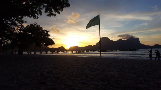 LIO Beach sunset