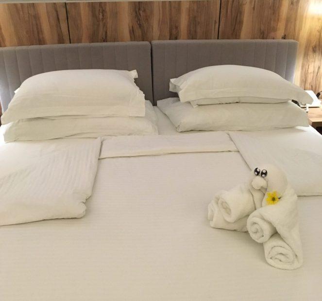 Club Paradise Palawan - Towel Art