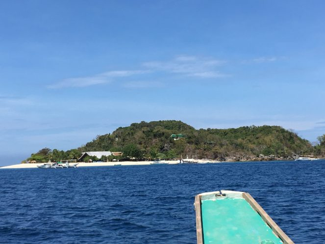 Club Paradise Palawan - From the boat