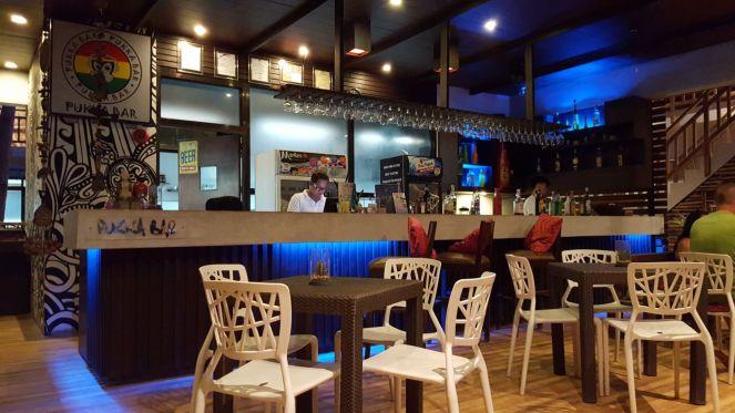 The Pukka bar interior