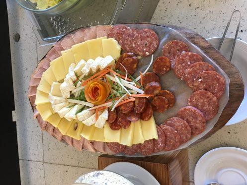 Club Paradise Palawan - Cheese and meats